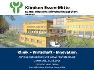 Kliniken Essen-Mitte Evang. Huyssens-Stiftung/Knappschaft gGmbH