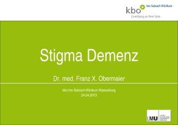 Stigma Demenz