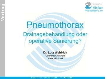 Pneumothorax Pneumothorax
