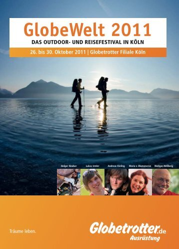 Programm Globewelt 2011 - 4-Seasons.de