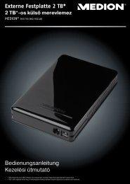 Externe Festplatte 2 TB* 2 TB - Medion