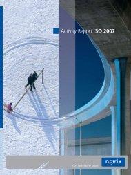 Activity Report 3Q 2007