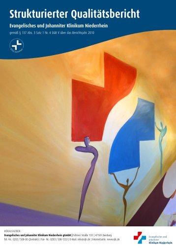 Strukturierter Qualitätsbericht über das Berichtsjahr 2010