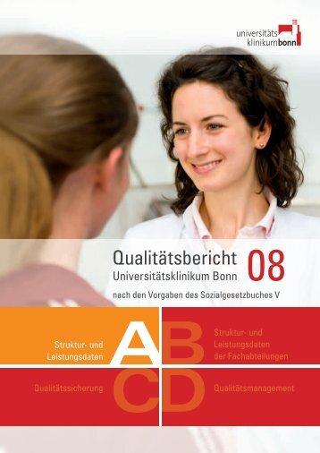 Qualitätsbericht