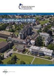 strukturierter Qualitätsbericht von 2010