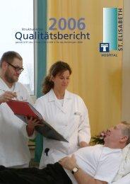 Qualitätsbericht 2006 - St. Elisabeth-Hospital Meerbusch-Lank