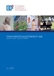 260530476Qualitaetsbericht-2006.pdf - St. Elisabeth-Krankenhaus ...