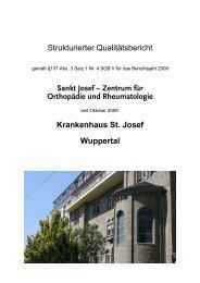 Strukturierter Qualitätsbericht für 2008