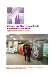 Qualitätsbericht 2008 - KTQ