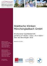 Qualitätsbericht - Elisabeth-Krankenhaus Rheydt