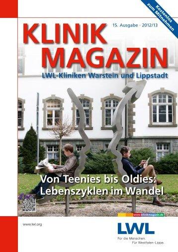 Von Teenies bis Oldies: Lebenszyklen im Wandel - Klinikmagazin
