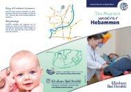 Das Angebot unserer Hebammen - Klinikum Bad Hersfeld GmbH