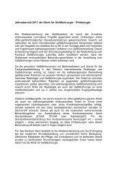 Jahresbericht 2009 - 2011 - Klinikum Bad Hersfeld GmbH