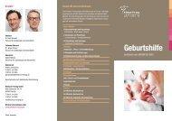 Flyer Geburtshilfe - Klinikum Freising
