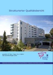Strukturierter Qualitaetsbericht 2010 - Klinikum Freising