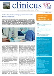 clinicus | Juli 2011 - Klinikum Freising