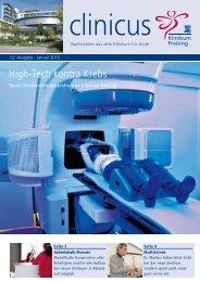 clinicus Januar 2010 - Klinikum Freising