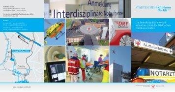 Die Interdisziplinäre Notfall- aufnahme (INA) - Städtisches Klinikum ...