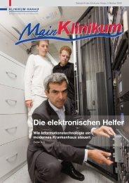 Die elektronischen Helfer - Klinikum Stadt Hanau