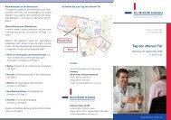 Tag der offenen Tür - Klinikum Stadt Hanau