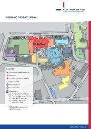 Lageplan des Klinikums - Klinikum Hanau