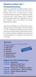 Termine Ablauf der Veranstaltungen - Klinikum Hanau