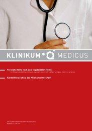 Ausgabe 2 - Juni 2011 - Klinikum Ingolstadt