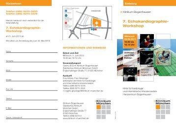 Download Flyer - Städtisches Klinikum München