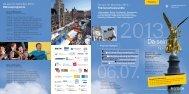 Flyer Da sein für München 2013 - MVG