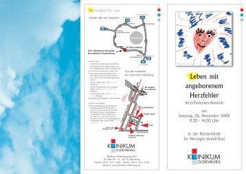 Leben mit angeborenem Herzfehler - im Klinikum Oldenburg