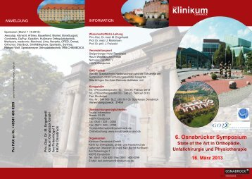 Download Info-Flyer - Klinikum Osnabrück