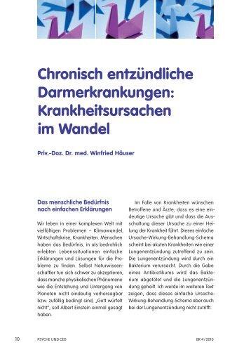 Chronisch entzündliche Darmerkrankungen - Klinikum Saarbrücken