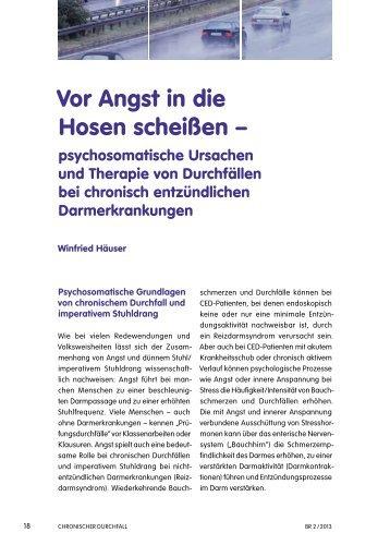 Vor Angst in die Hosen scheißen – - Klinikum Saarbrücken