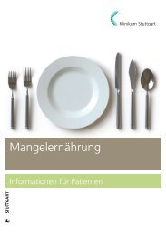 Mangelernährung - Klinikum Stuttgart