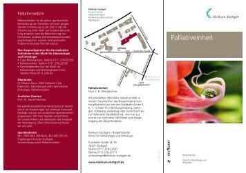 Flyer als PDF (181 KB) - Klinikum Stuttgart