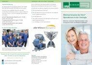 Patienteninformation zum daVinci-Operationssystem ... - des Klinikums