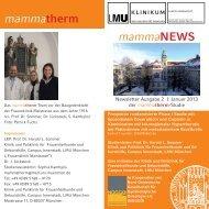 zum Newsletter - des Klinikums - LMU München