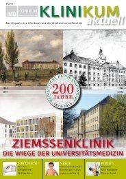 KLINIKUMaktuell 4/2013 - des Klinikums - LMU München