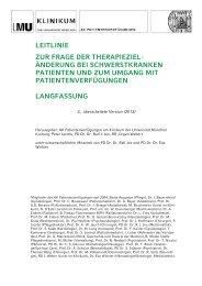 Münchner Leitlinie V3 Langfassung 2013-CD_jox - des Klinikums