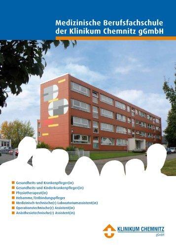 Broschüre Medizinische Berufsfachschule des Klinikums