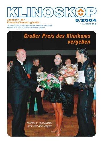 Großer Preis des Klinikums vergeben - Klinikum Chemnitz