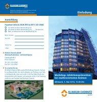 Einladung - Klinikum Chemnitz
