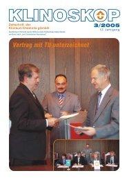 Vertrag mit TU unterzeichnet - Klinikum Chemnitz