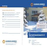 Geriatrienetzwerk-C - Klinikum Chemnitz
