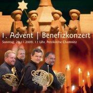 1. Advent | Benefizkonzert - Klinikum Chemnitz