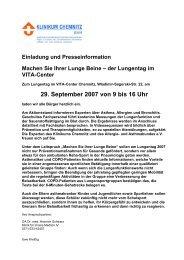 Download der Pressemitteilung ( 31 KB im PDF Format ) - Klinikum ...