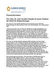 Presseinformation zum Herunterladen ( 29 KB PDF Format )
