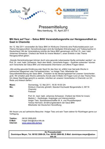 38 KB PDF Format - Klinikum Chemnitz