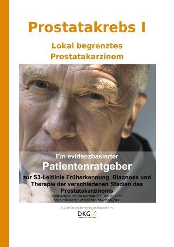 Prostatakarzinom - Krebsgesellschaft-NRW