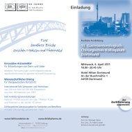 Hier Flyer downloaden - Klinikum Dortmund